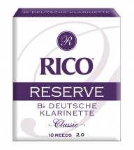 D\'addario - Rico Rcr1020d - Rico Anches Allemandes Rico Reserve Clarinette Sib, Force 2.0, Pack De 10