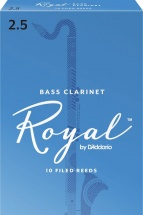 Rico Anches De Clarinette Basse Royal 2.5