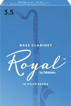 Rico Anches De Clarinette Basse Royal 3.5