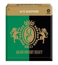 Rico Anches Saxophone Alto Grand Concert Force 3.0 Pack De 10