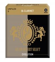 Rico Anches Grand Concert Evolution Clarinette Sib Force 5.0 Pack De 10