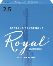 Rico Anches De Saxophone Soprano Rico Royal 2.5