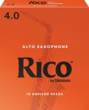 D\'addario - Rico Rja1040 - Anches Saxophone Alto Rico Par , Force4 (pack De10)