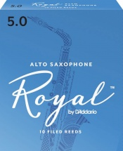 Rico Anches Saxophone Alto Royal Force 5.0 Pack De 10