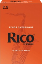 Rico Anches Saxophone Ténor Force 2.5 Pack De 10