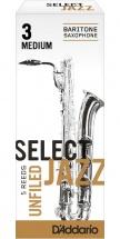 Rico Anches De Saxophone Baryton Rico Jazz Select Unfield 3m