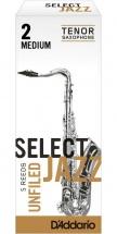 Rico Anches De Saxophone Tenor Rico Jazz Select Unfield 2m