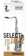 Rico Anches Saxophone Tenor Jazz Select Unfield 2s