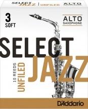Rico Anches De Saxophone Alto Rico Jazz Select Unfield 3s