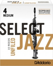 Rico De  Soprano  Jazz Select Unfiled 4m Bois
