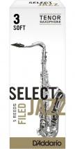 Rico Anches De Saxophone Tenor Rico Jazz Select Field 3s