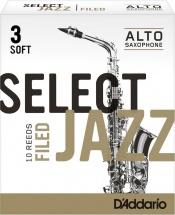Rico Anches De Saxophone Alto Rico Jazz Select Filed 3s