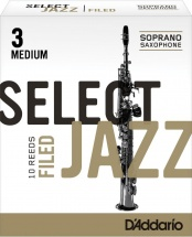 Rico Anches De Saxophone Soprano Rico Jazz Select Filed 3m