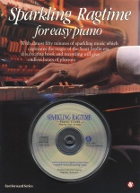 Sparkling Ragtime For Easy Piano + Cd - Piano Solo