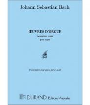 Bach J.s. - Prelude Et Fugue Vol.2  - Piano