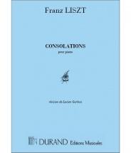 Liszt - Consolations - Piano