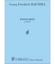 Haendel - Passacaille - Piano