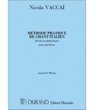 Vaccai - Methode De Chant - Voix Soprano Et Piano (fr/angl