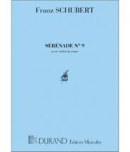 Schubert F. - Serenade Violon/piano