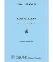 Franck - Panis Angelicus - Voix Soprano Et Piano