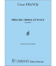 Franck - Prelude Choral Et Fugue - Piano