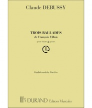 Debussy - Ballades Villon - Chant Et Piano