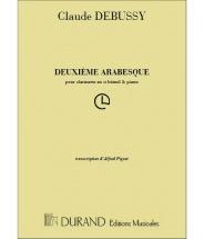 Debussy C. - Arabesque N 2 - Clarinette Et Piano