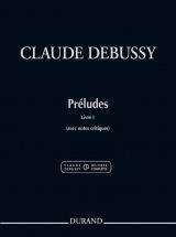 Debussy Claude - Preludes Livre 1 - Piano (nouvelle Edition)