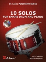 Bomhof G. - 10 Solos For Snare Drum - Caisse Claire