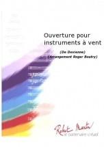 Devienne F. - Boutry R. - Ouverture Pour Instruments  Vent