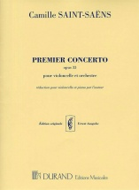 Saint Saens C. - Premier Concerto Opus 33 - Violoncelle Et Orchestre