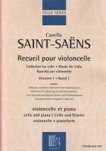 Saint-saëns - Recueil Pour Violoncelle Vol.1