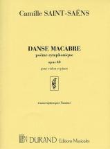 Saint-saens C. - Danse Macabre - Violon Et Piano