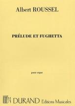Roussel - Prelude Et Fughetta Op 41 - Orgue