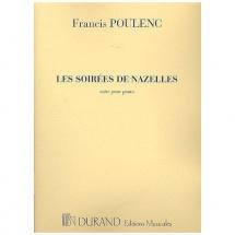 Poulenc F. - Soirees De Nazelles - Piano