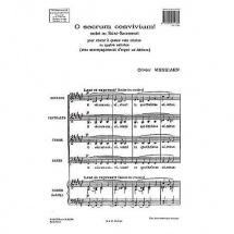 Messiaen O. - O Sacrum Convivium Motet Au Saint-sacrement - Choeur