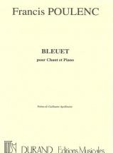 Poulenc F. - Bleuet - Chant Et Piano