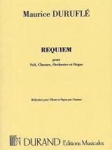 Durufle M. - Requiem Op 9 Pour -  Soli, Choeurs Et Orchestre