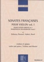 Sonates Francaises - Violon Et Piano