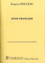 Poulenc F. - Suite Francaise - 2 Guitares