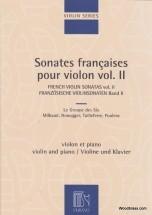 Sonates Francaises Vol.2 - Violon Et Piano
