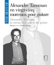 The Best Of : Alexandre Tansman - Guitare