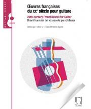 Oeuvres Francaises Du Xxe Siecle Pour Guitare