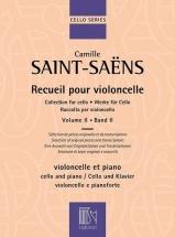 Saint-saëns - Recueil Pour Violoncelle Vol.2