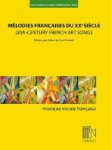 Melodies Francaises Du Xxe Siecle