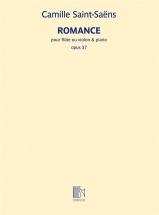 Saint-saens Camille - Romance Op.37 - Flute (ou Violon) and Piano