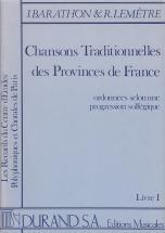 Barathon Jacques - Chansons Traditionnelles Vol.1 Solfege (chant)
