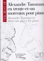 Tansman A. - Best Of En 31 Morceaux Pour Piano