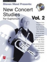 Steven Mead - New Concert Studies Vol.2 - Euphonium Cle De Sol + Cd