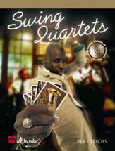 Lochs Bert - Swing Quartets + Cd - Quatuor Saxophone